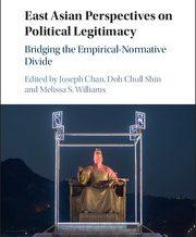 Танилцуулах бүтээл: East Asian Perspectives on Political Legitimacy: Bridging the Empirical-Normative Divide